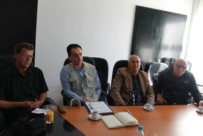 Ministar Bukvarević na sastanku sa delegacijom rvi 100% I grupe