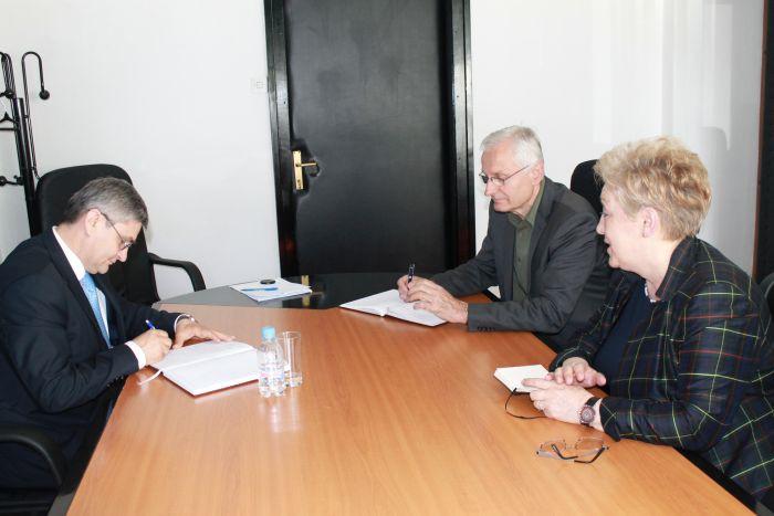 Ministar Bukvarević na sastanku sa delegacijom SABNOR-a Bosne i Hercegovine