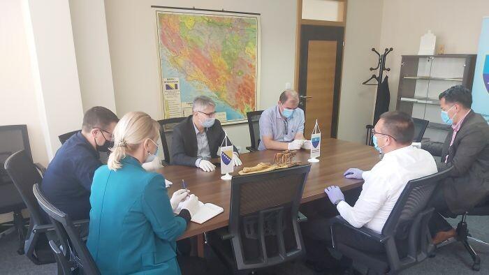 Ministar Bukvarević održao radni sastanak sa ministrom Soldom