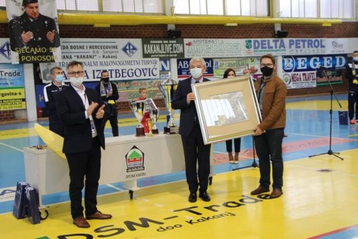 Priznanje Saveza boraca FBiH posthumno dodijeljeno Salki Bukvareviću