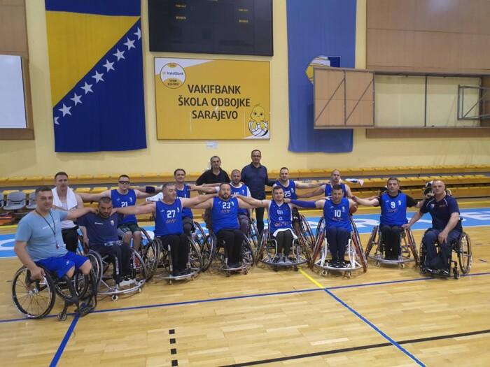 FMBI: Finansijska podrška za pripreme muške košarkaške reprezentacije BiH u kolicima