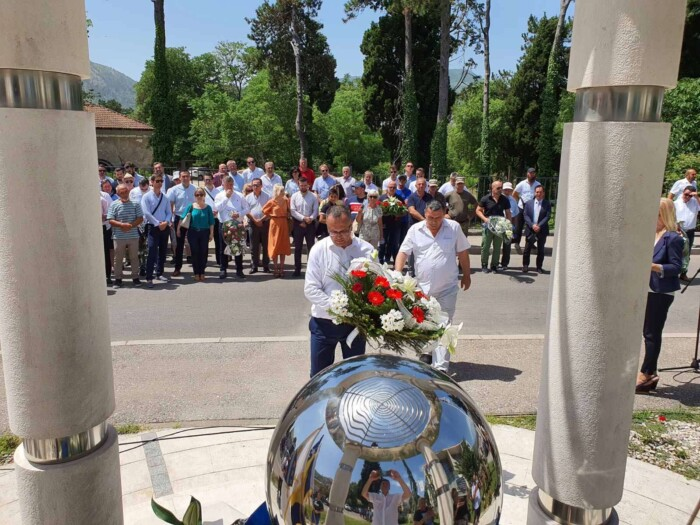 Obilježavanje 28. godišnjice deblokade Mostara i pogibije Midhada Hujdura Hujke
